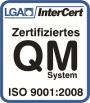 ISO 9001:2008, Logo, Grabmeier GmbH, Augsburg