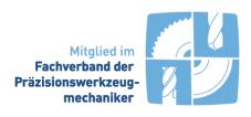Fachverband Deutscher Präzisions-Werkzeugschleifer e.V., Logo, Zertifikate, Grabmeier GmbH